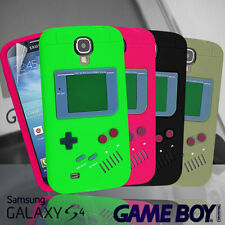 4 Colour GameBoy Game Boy 3D Silicone Case Cover for Samsung Galaxy S4 i9500 +SP