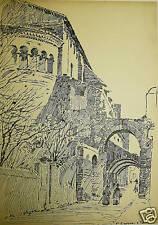 ITALIA San Giovanni e Paolo ROMA (2) inchiostro ed Goodall c1890