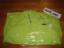 Supreme  Pin Dot Shell Jacket Acid Green XL F/W 2012 NF Leopard Varsity B