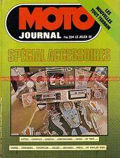 MOTO JOURNAL  334 MARTIN LAVERDA George O'Dell Alain PRIEUR Accessoires 1977