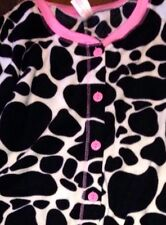 Cow Footed Pajamas Black White Moo Costume Chick-fil-A® S M or XXL LAST ONE NEW