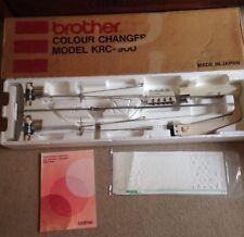 Cambiador De Color De Cama Doble KRC900 máquina tejer hermano KR830 KR838 KR850 KR260