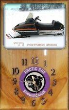 1977 Arctic Cat Pantera 5000 snowmobile wood wall clock