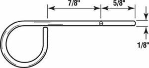 "Prime-Line L 5538 Window Screen Lock Pins, 1/8"" Diameter for 1"" Frame, Lot of 8!"