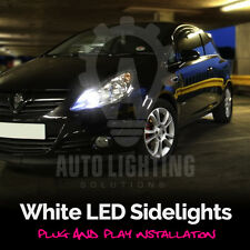 Vauxhall Corsa C D VXR Xenon White LED Sidelight Bulbs Canbus Error Free Upgrade