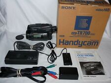 Sony Handycam CCD-TR700 8mm Video8 HI8 Camcorder Player Stereo Video Transfer