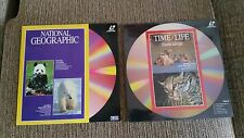 National geographic time life job lot lot 2 x s ld