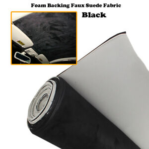 2.1M x 1.5M Synthetic Suede Car Headliner Fabric Auto Roof Liner Replace Sagging