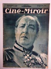 CINE MIROIR N°683 6 MAI 1938 COUV HARRY BAUR