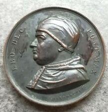 Medaglia Vaticano Leone X 42mm 46,26gr Quaesita Ad Religionis