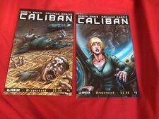 CALIBAN #1,2 Garth Ennis Avatar Comics