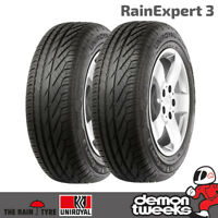 2 x Uniroyal RainExpert 3 Performance Road Tyres - 165 60 14 75T
