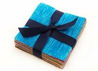 "Kaleidoscope  pre cut charm pack 5"" squares 100% cotton fabric quilt 102 pieces"