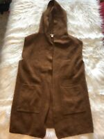 Cato Sweater Vest Brown Womens Size M
