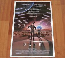 "ORIGINAL MOVIE POSTER ""DUNE"" 1984 INTERNATIONAL FOLDED ONE SHEET"