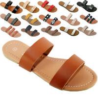 New Womens Sandals Shoes Gladiator Thong Flops Slip On Flip  Flat  open Toe