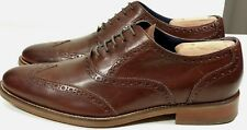 Men's Cole Haan BROGUES Madison Oxford Burgundy brown wingtips Size 10 air soles