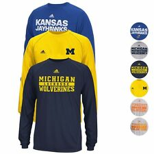 NCAA Long Sleeve Climalite Performance Shirt Collection by ADIDAS - Men's