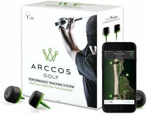 Arccos Smart Sensors GPS Golf Performance Tracking System Club Swing Aid - Gen 1