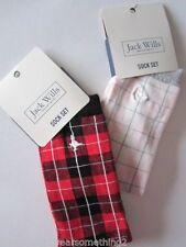 Jack Wills Check Socks for Women