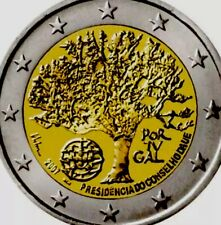Portugal Coin 2€ Euro 2007 Commemorative EU Presidency New UNC from Bag