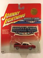 Johnny Lightning Muscle Cars U.S.A. '70 1970 Chevy Chevelle SS Red Die-cast 1/64