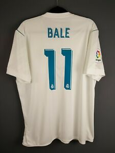 Bale Real Madrid jersey XL 2017 2018 home shirt AZ8059 Adidas ig93