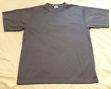 NWOT MENS KOMFIT ATHLETIC POLYESTER SHIRT XXL GRAY