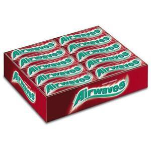 Wrigley's Airwaves Cherry Menthol Sugar free Gum 30 packs of 10 pieces