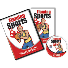 Sport Clipart Vinyl Cutter Plotter Vector Clip Art Screen Printing Images Eps Cd