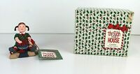 Department 56 ALL THROUGH THE HOUSE Caroline Stringing Cranberries New Free Ship