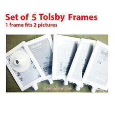 """IKEA Photo Frames TOLSBY 5-Pk Photo Frame Fits 2 Pictures White 4x6"""" Parties"""