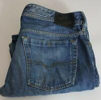 Diesel Industry Zathan Mens Jeans W36 L32 Wash 00731 Blue 36x32 Bootcut