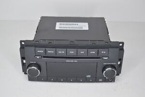 2010 Dodge Challenger AM FM CD Player Radio w Auxiliary in Face P05091111AC
