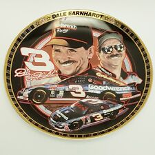 Nascar #3 Dale Earnhardt 3 Drivers of Victory Lane Plate The Hamilton Collection