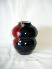 Studiokeramik Vase , 70er/80er, signiert