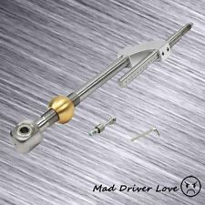 93-97 DEL SOL 88-91 CRX CIVIC STAINLESS STEEL BRASS ADJUST SHORT SHIFTER SILVER