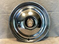 "1948 Tucker 48 vintage hubcap tribute 15"" wheel cover chrome hub cap Garage Art"