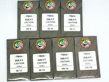 20 ORGAN TITANIUM #16BP 15X1 HAX1 15X1PD FLAT SHANK HOME UNIVERSAL SEWING NEEDLE