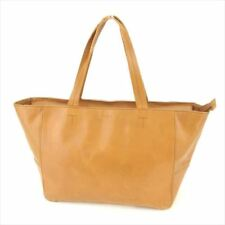 Furla Tote bag Brown leather Woman unisex Authentic Used P758