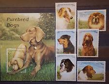 Briefmarken Hunde,Dogs,Afghanistan Bl.+satz,postfrisch