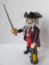 Playmobil Knot-beard pirate figure with rapier sword & lantern NEW