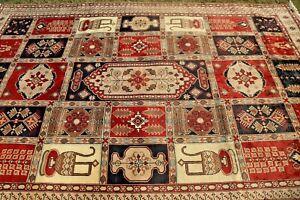 COLLECTORS' PIECE Antique Zeer Khakhi Treasure Geometric Pattern AzarbayCan Rug