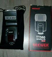 Neewer TT560 Flash Speedlite Canon Nikon Sony Camera Hot Shoe