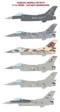 Caracal Models 1/72 Lockheed-Martin F-16 Vipers - The Next Generation # 72019