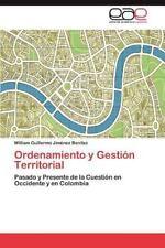 Ordenamiento y Gestion Territorial (Paperback or Softback)
