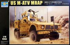 US Oshkosh M-ATV MRAP Militär Geländewagen 1:16 Model Bausatz Trumpeter 00930