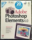Adobe Photoshop Elements 4.0 - CD with User Guide Book for Mac w/ serial number