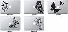 Butterfly Decal Sticker for Apple Mac Book Air/Pro Dell Laptop Seahorse Flower