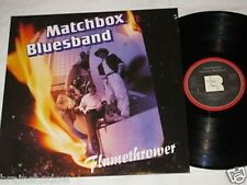 MATCHBOX BLUESBAND flamethrower LP L+R Rec. 1988 mit AUTOGRAMMEN
